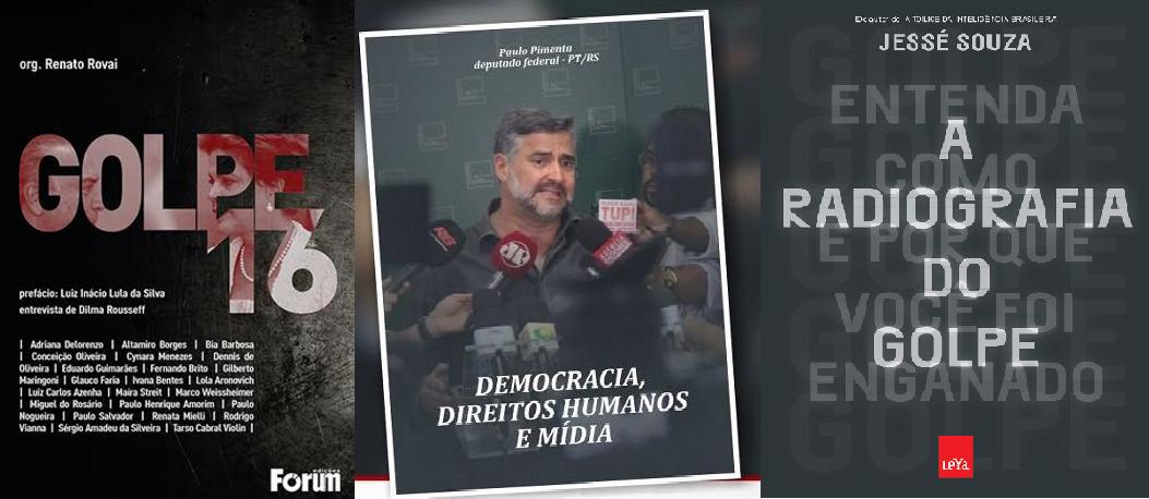 Livros sobre o golpe de 2016