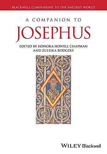 CHAPMAN, H. H. ; RODGERS, Z. A Companion to Josephus