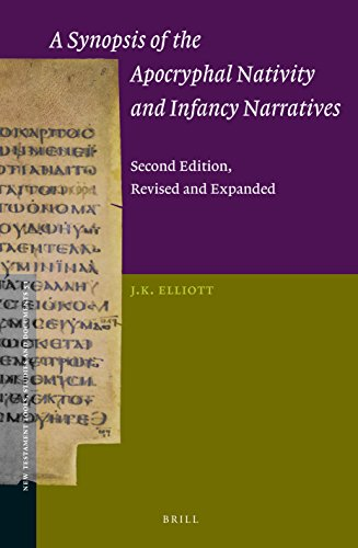ELLIOTT, J. K. A Synopsis of the Apocryphal Nativity and Infancy Narratives. Second Edition, Revised and Expanded. Leiden: Brill, 2016