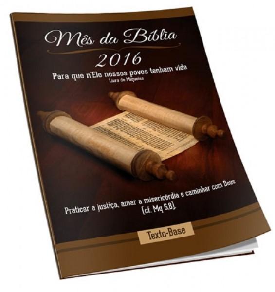 Mês da Bíblia 2016: livro de Miqueias