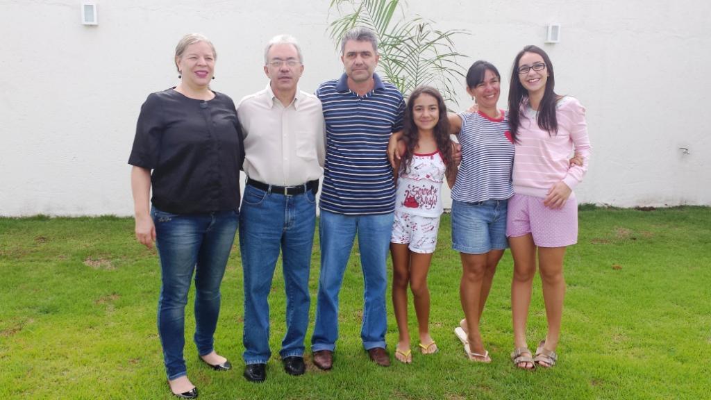 Família de Geraldo, meu irmão, no dia 19.01.2014