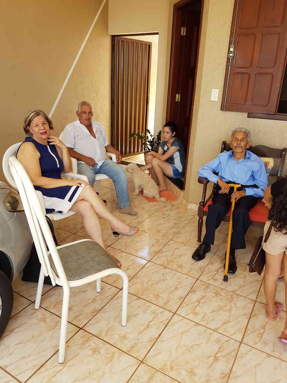 José Nicolau na casa da Sônia: 18.01.2019