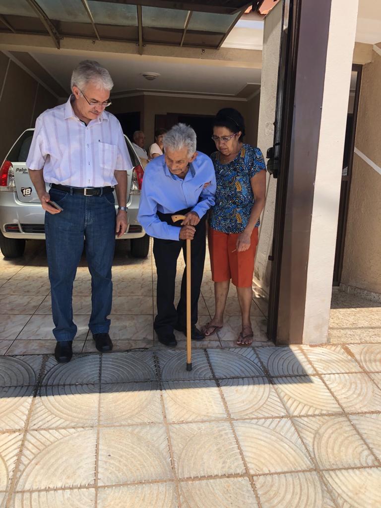 José Nicolau saindo da casa da Sônia: 18.01.2019
