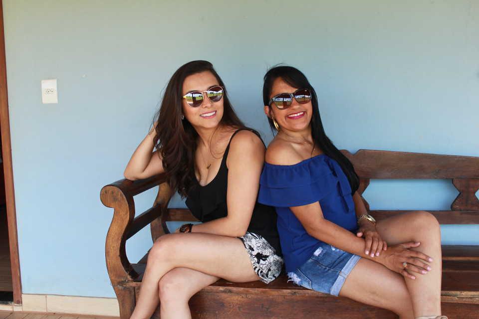 Camila e Juliana, netas de José Nicolau - 19.01.2019
