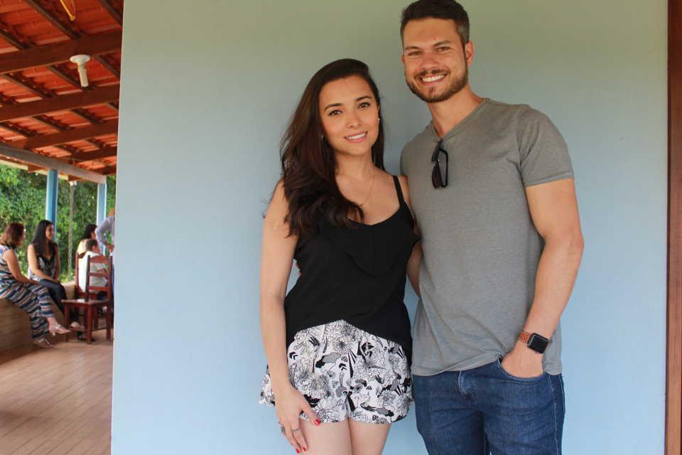 Camila e Thiago Henrique, netos de José Nicolau - 19.01.2019