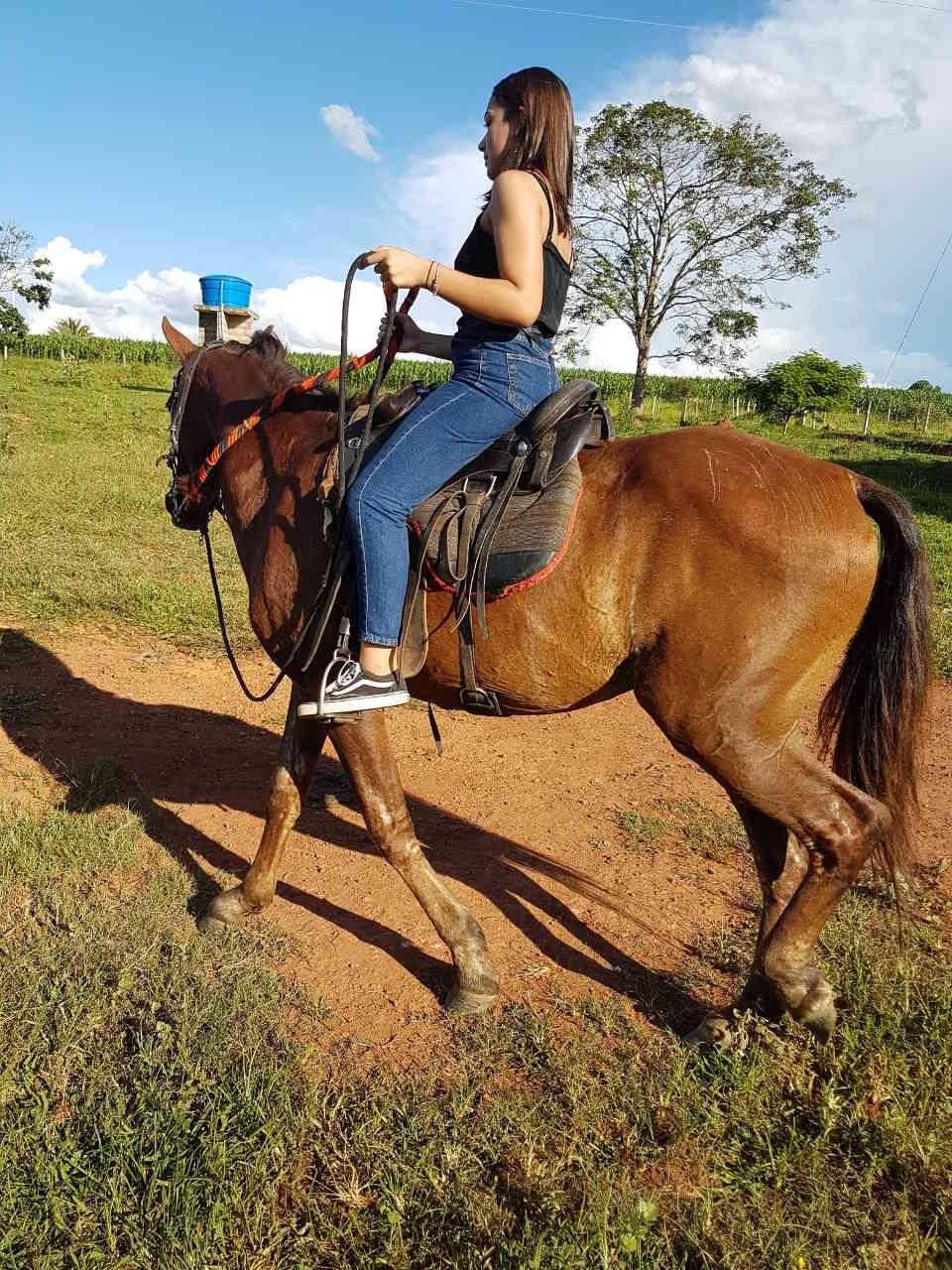 Ana Clara, filha do Geraldo - 19.01.2019