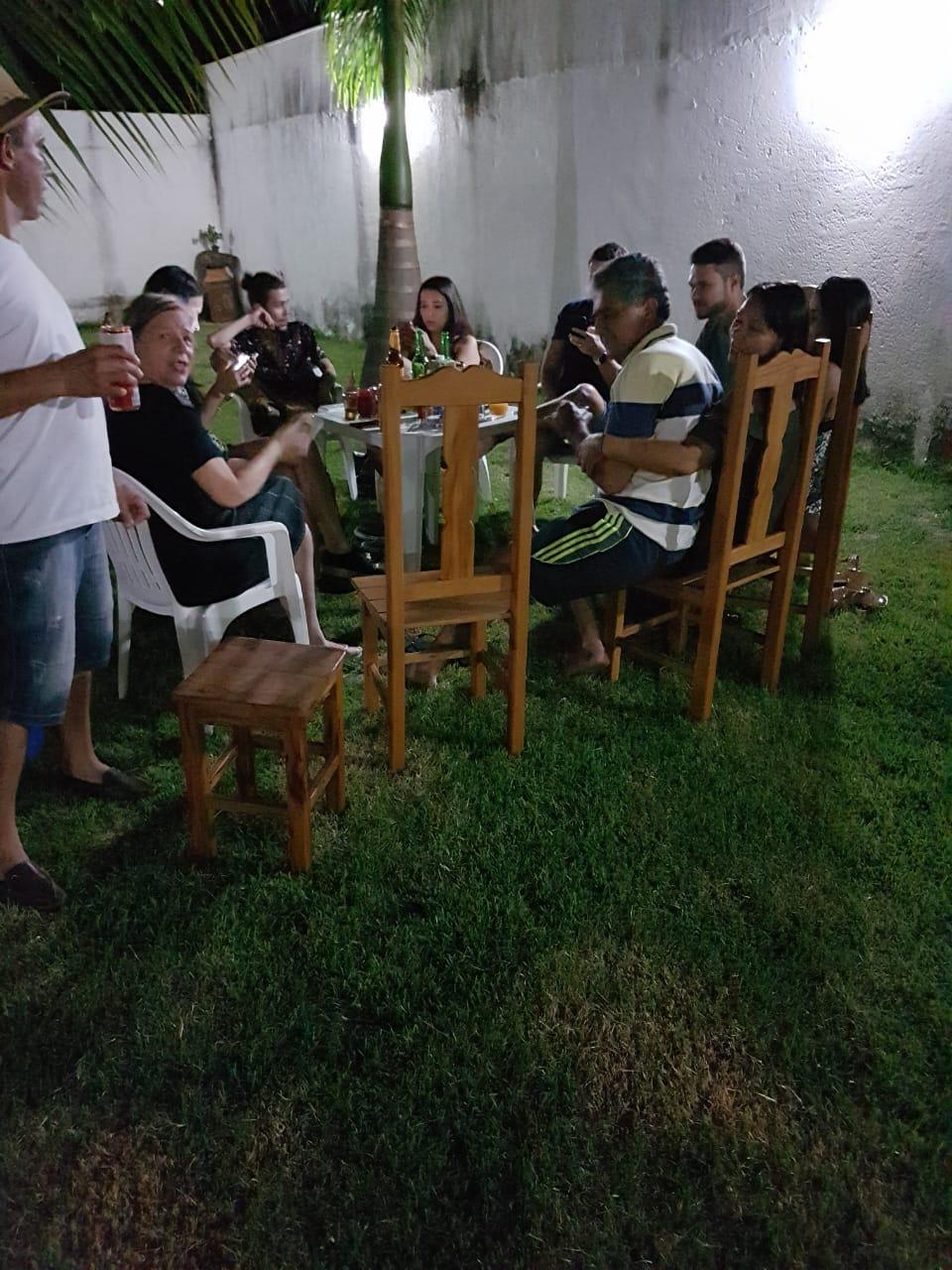 Netos de José Nicolau na casa de Geraldo e Gracinha em 19.01.2019