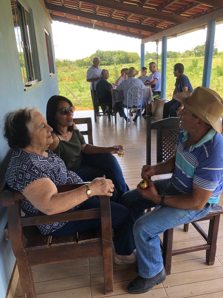 Madrinha Maria, Gracinha e Vilmar: 19.01.2019