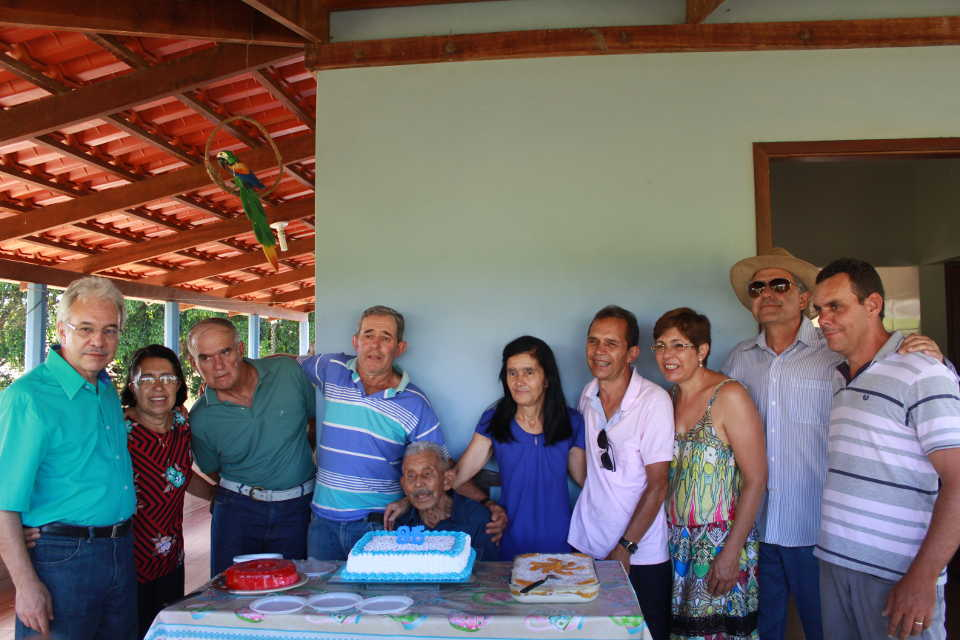 José Nicolau com seus 9 filhos - 19.01.2019