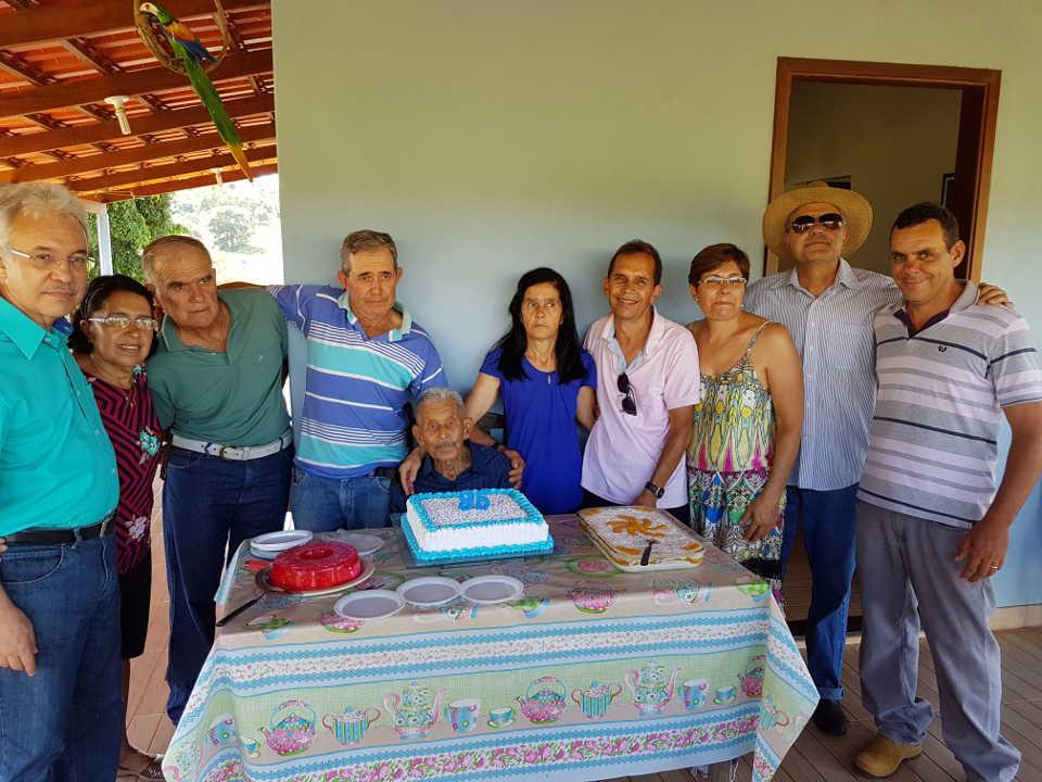 José Nicolau com seus filhos em 19.01.2019