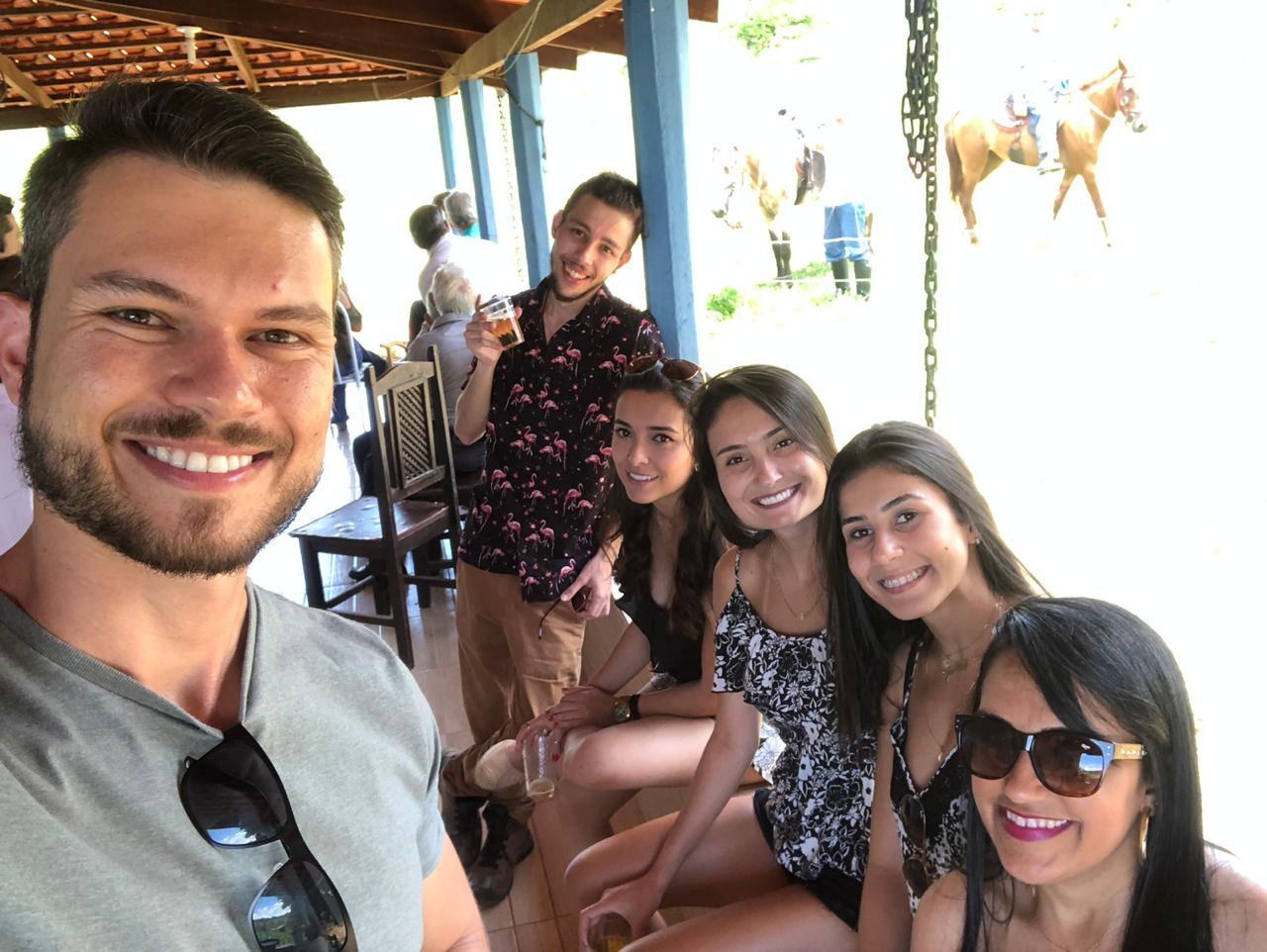 Netas e netos de José Nicolau em 19.01.2019