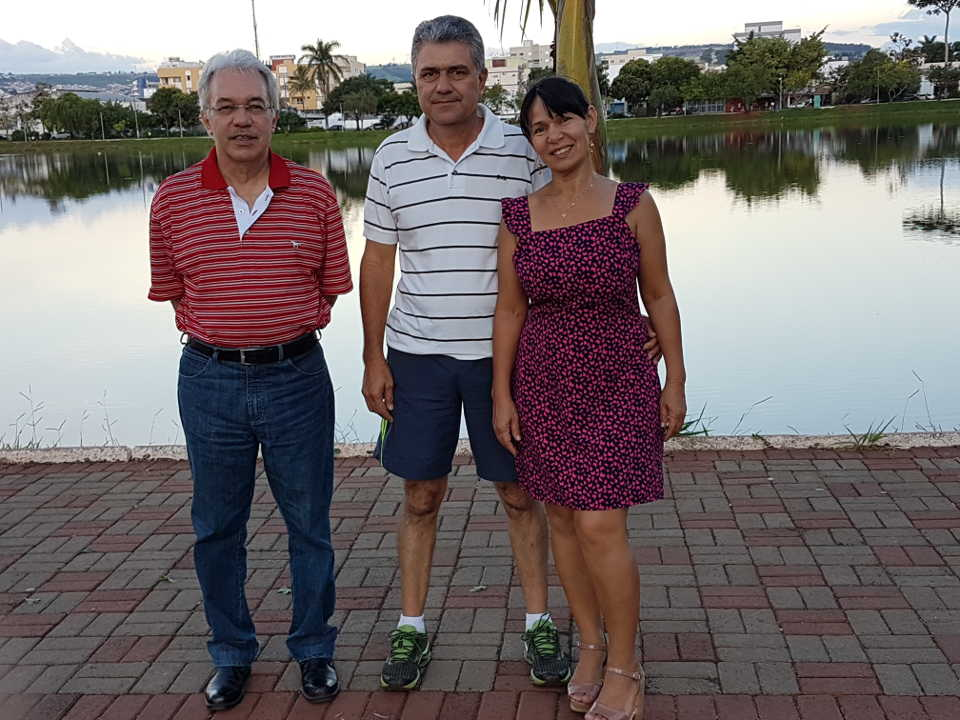 Com Geraldo e Gracinha na Lagoa Grande - 20.01.2019