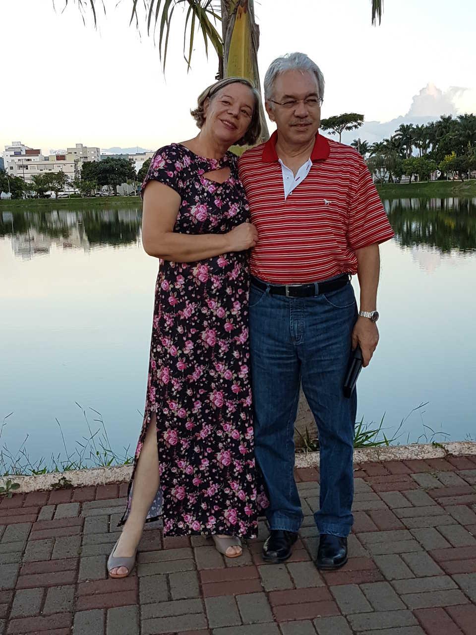 Rita e eu na Lagoa Grande - 20.01.2019