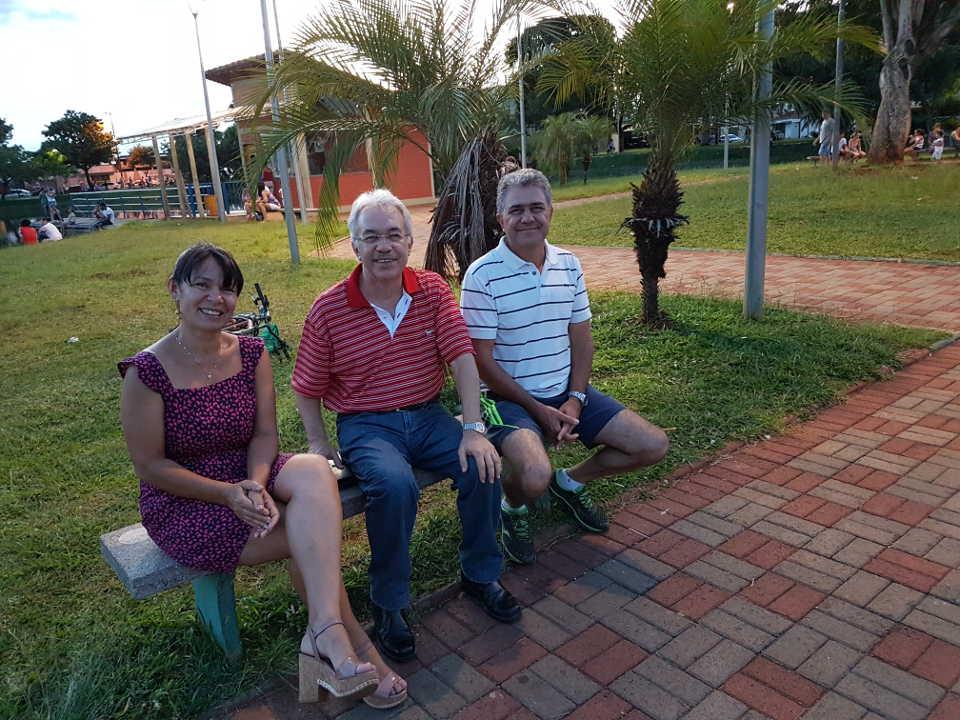Com Gracinha e Geraldo em 20.01.2019