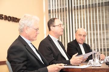 CNBB: Dom Leonardo, Secretário-Geral - Dom Sérgio, Presidente - Dom Murilo, Vice-Presidente