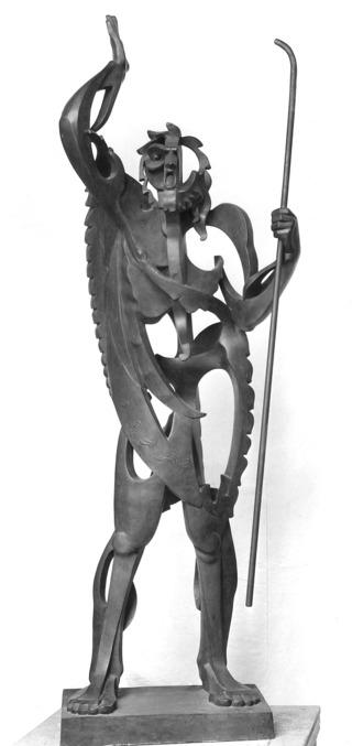 El Profeta, de Pablo Gargallo - Museo Nacional Centro de Arte Reina Sofía, Madrid (1933)