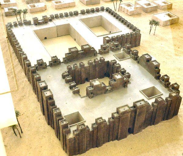 Eságil: templo de Marduk em Babilônia. Pergamonmuseum, Berlin