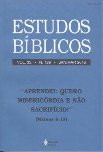 Estudos Bíblicos 129 - Jan/Mar 2016