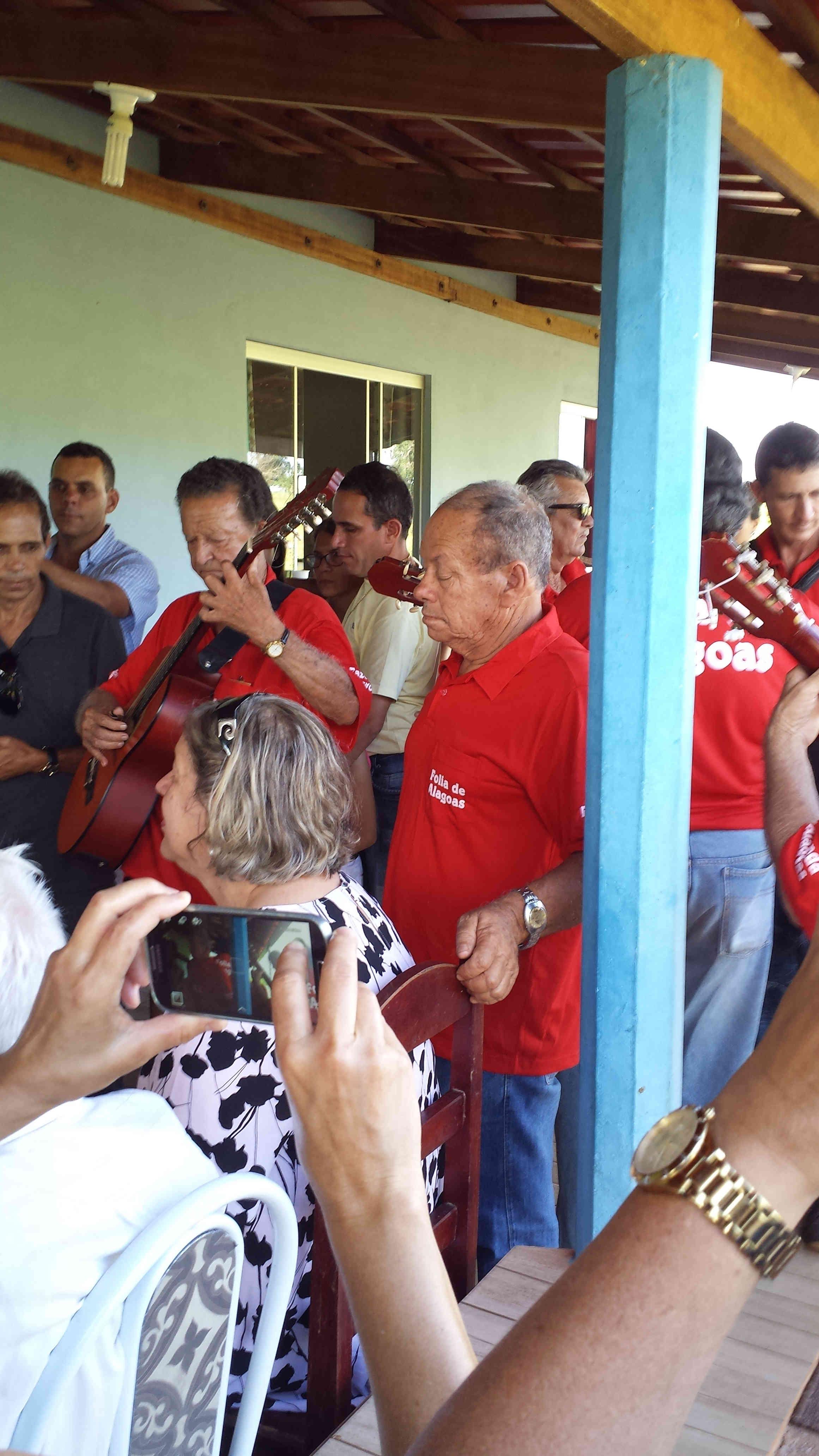 Folia de Reis de Alagoas na festa dos 94 anos de Zé Nicolau - 20.01.2018