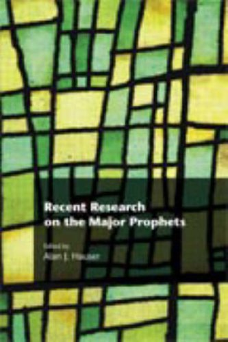 HAUSER, A. J. (ed.) Recent Research on the Major Prophets. Sheffield: Sheffield Phoenix Press, 2008,  xiv + 389 p.