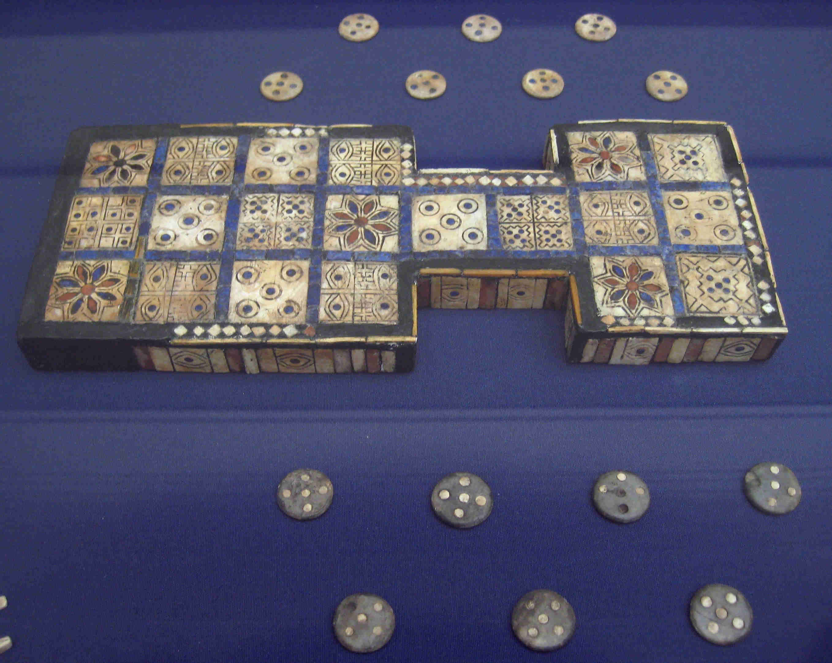 Jogo Real de Ur - The Royal Game of Ur (The British Museum)