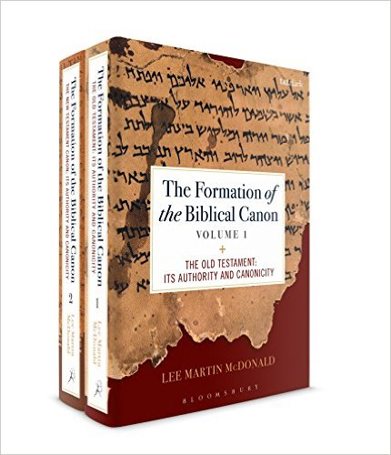 MCDONALD, L. M. The Formation of the Biblical Canon: 2 volumes. London: Bloomsbury T&T Clark, 2017