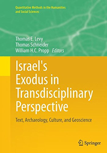 LEVY, T. E. ; SCHNEIDER, T. ; PROPP, W. H. C. (eds.) Israel's Exodus in Transdisciplinary Perspective: Text, Archaeology, Culture, and Geoscience. New York: Springer, 2015, XXVII + 584 p