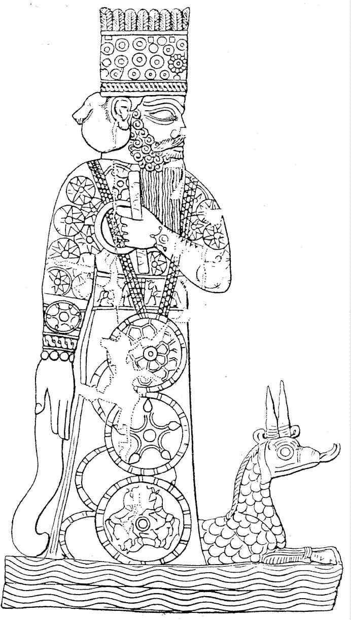 Marduk e seu dragão