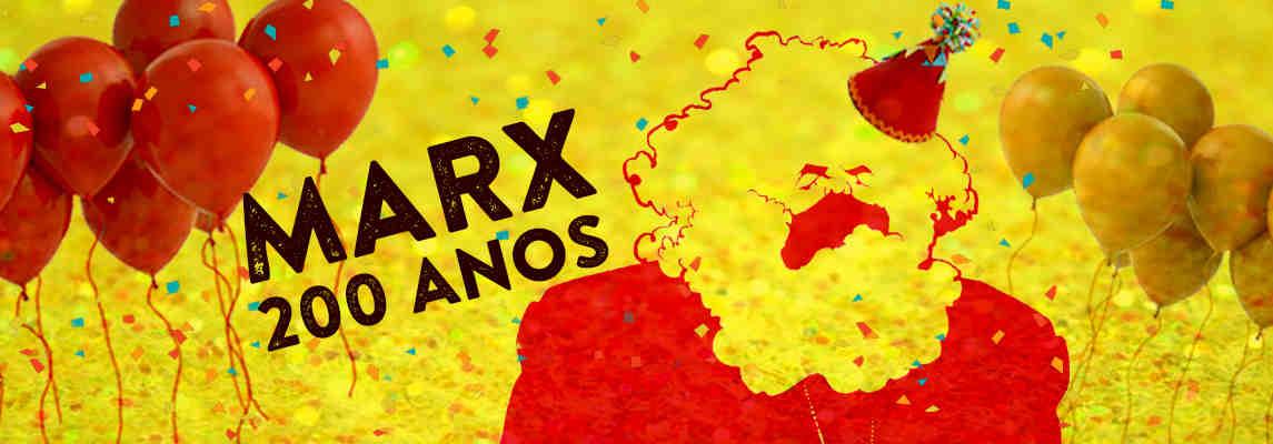 Karl Marx: Trier, 5 de maio de 1818 - Londres, 14 de março de 1883
