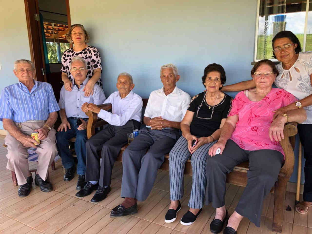 José Nicolau com familiares em 20.01.2018
