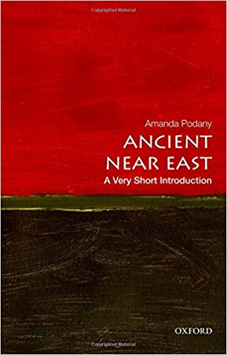 PODANY, A. H. The Ancient Near East: A Very Short Introduction. Oxford: Oxford University Press, 2014, 148 p.