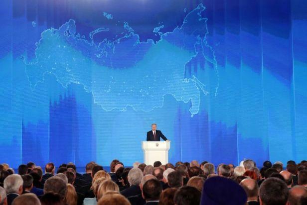 Discurso de Vladimir Putin perante a Assembleia Federal da Rússia em 01.03.2018
