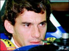 Ayrton Senna em Ímola em 01.05.1994