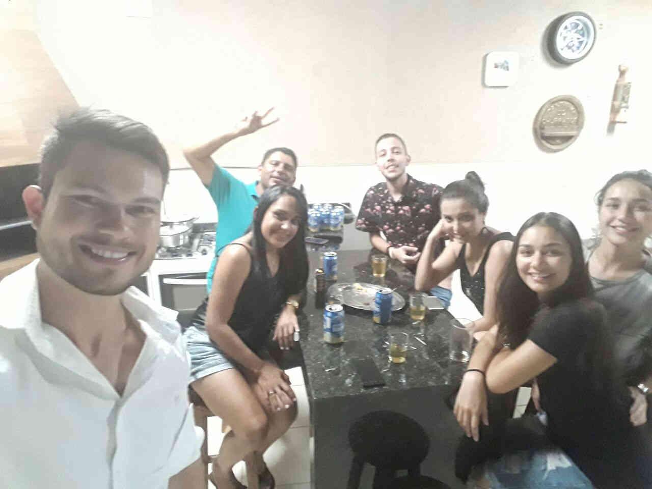 Netas e netos de José Nicolau - Casa da Sônia: 19.01.2018