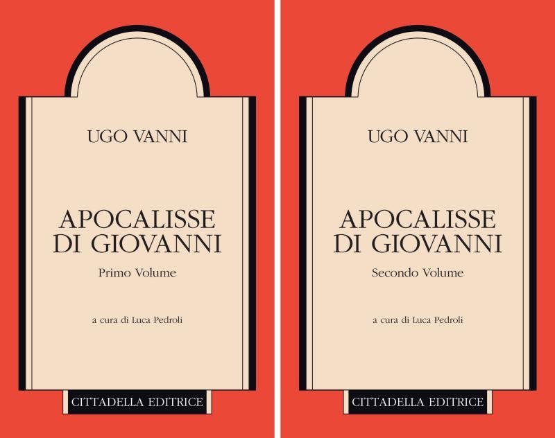 VANNI, H. Apocalisse di Giovanni. 2 volumi. Assisi: Cittadella Editrice, 2018, 1004 p.