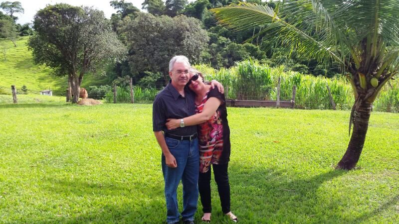 Rita e Airton no dia 18.01.2014 na festa dos 90 anos de José Nicolau, meu pai