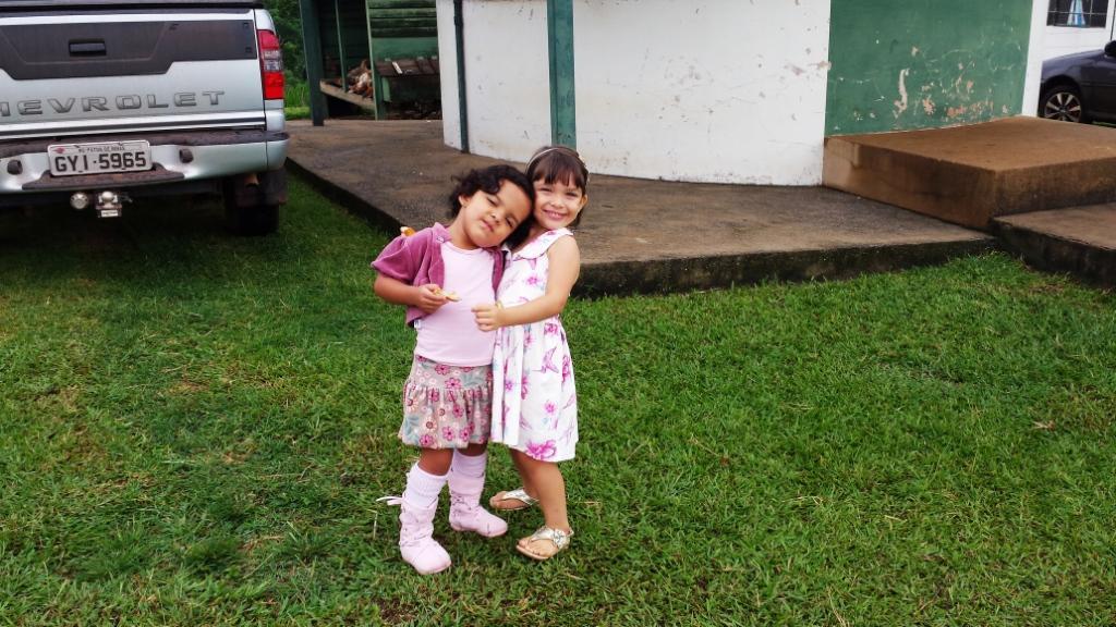 Bisnetas de José Nicolau, filhas de Ricardo e Rogério
