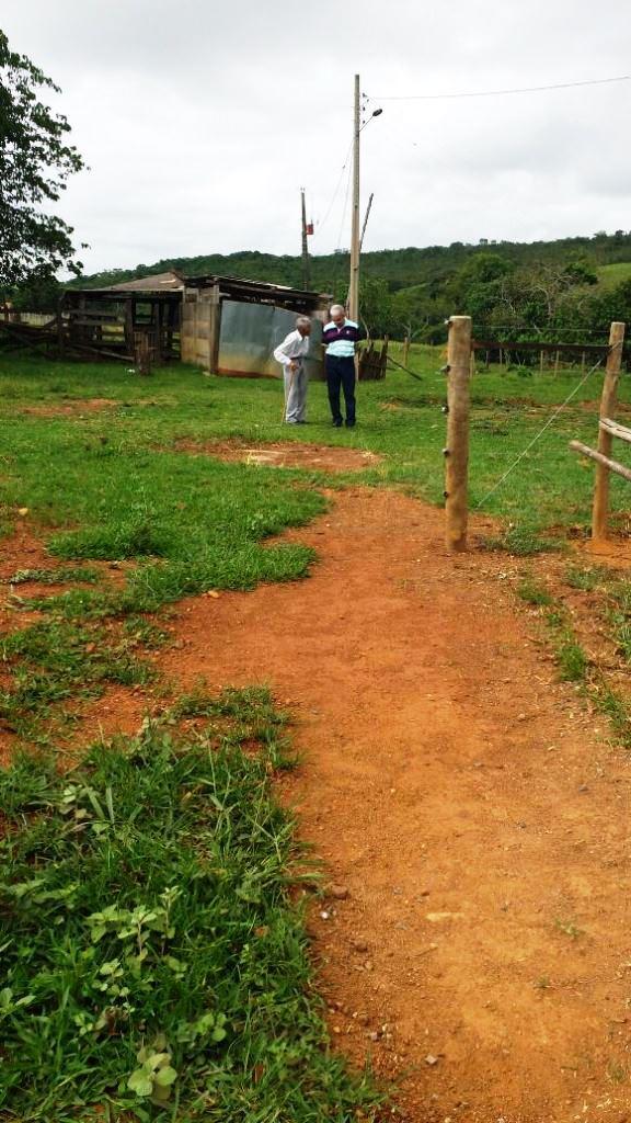 Na fazenda de papai, em Alagoas