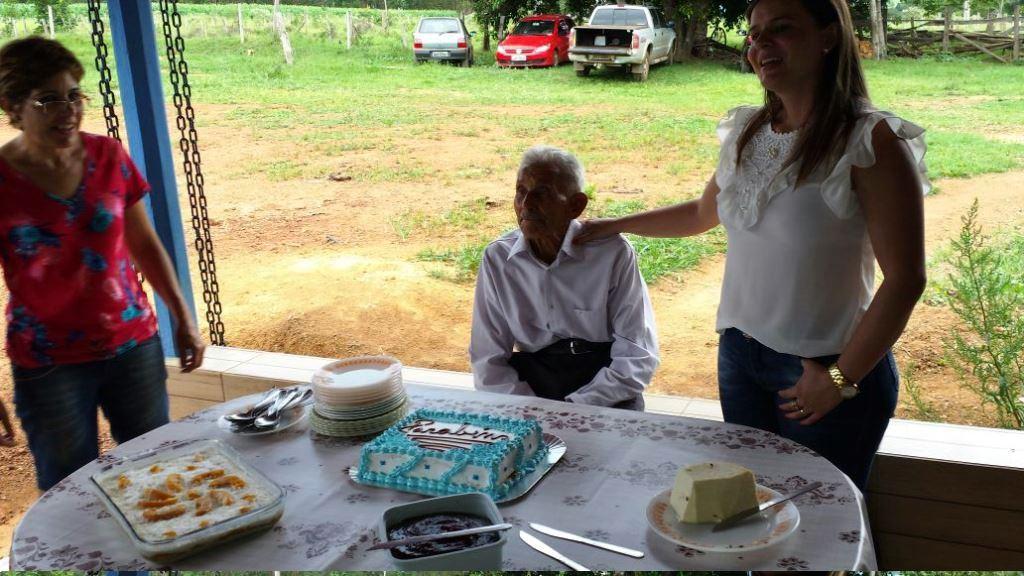 Zé Nicolau, meu pai, comemora seus 93 anos em 14.01.2017